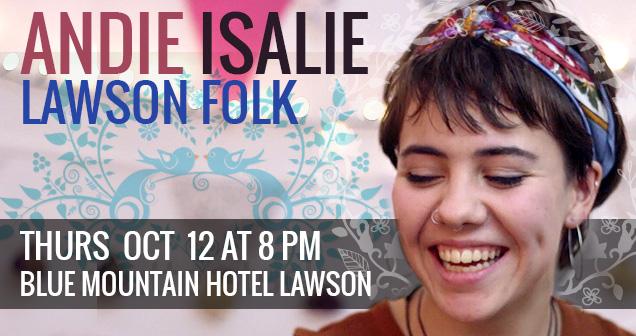 f8de35a2804f8 Andie Isalie – Lawson Folk   Katoomba Music