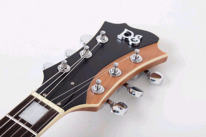 cardinal black raven neck 1 700x467 - PureSalem Elevation Electric Guitar Matt Raven Black Finish