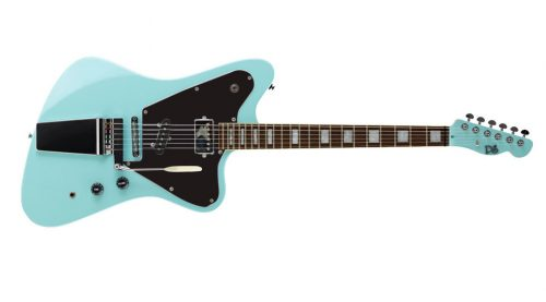 elevation crow black frnt jv puresalem 4 500x277 - PureSalem Cardinal Electric Guitar Daphne Blue Finish