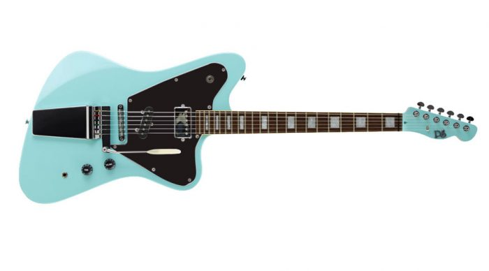 elevation crow black frnt jv puresalem 4 700x388 - PureSalem Cardinal Electric Guitar Daphne Blue Finish