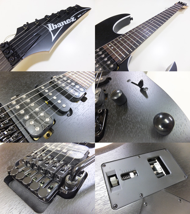 rg370zbwk 10 2 - Ibanez RG370ZB WK Electric Guitar In Weathered Black Finish