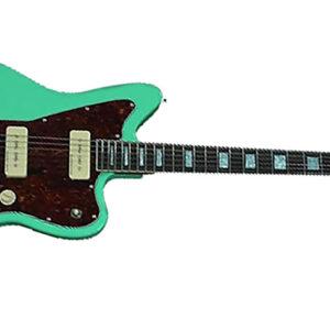woodsoul 1 300x300 - PureSalem WoodSoul Electric Guitar Sea Foam Green Finish