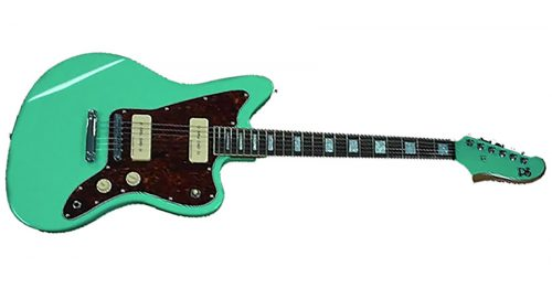 woodsoul 1 500x271 - PureSalem WoodSoul Electric Guitar Sea Foam Green Finish