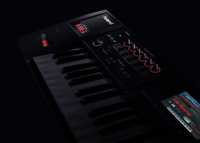 fa 06 angle zoom gal 700x502 - Roland FA-06 Music Workstation