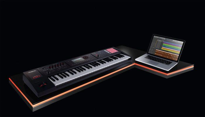 fa 06 laptop gal 700x398 - Roland FA-06 Music Workstation