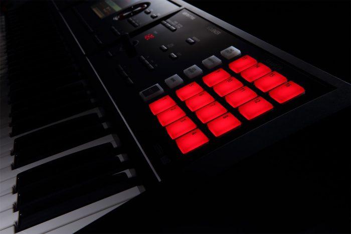 fa 06 sample pads gal 700x467 - Roland FA-06 Music Workstation