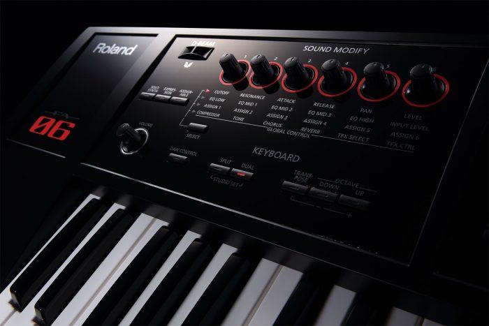 fa 06 sound modify gal 700x467 - Roland FA-06 Music Workstation