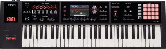 fa 06 top gal 700x207 - Roland FA-06 Music Workstation