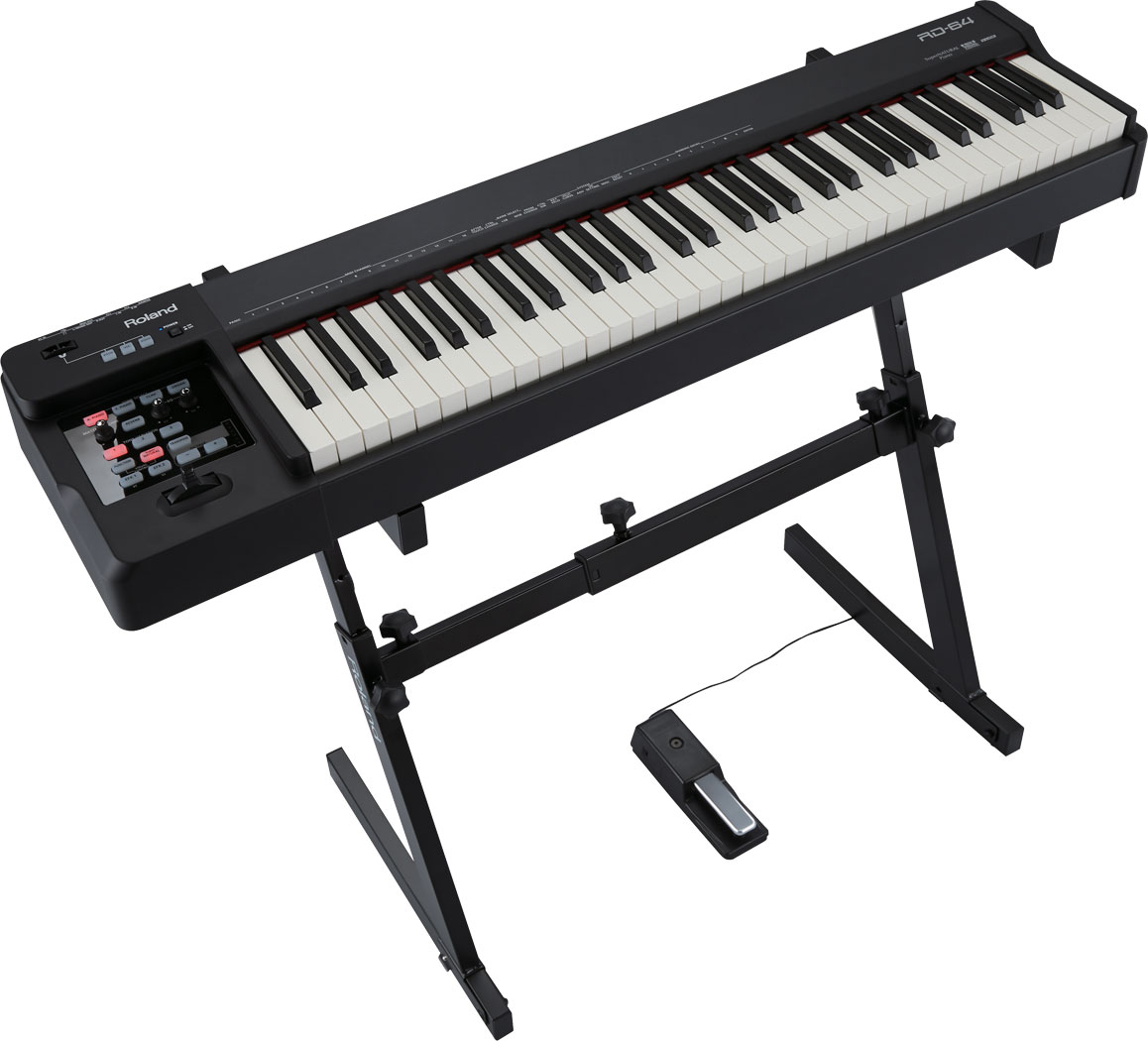 rd 64 angle stand gal - Roland Rd-64 Digital Piano