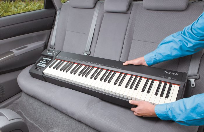 rd 64 car seat gal 700x455 - Roland Rd-64 Digital Piano