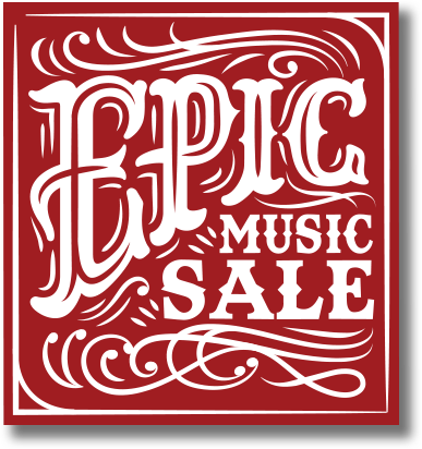 Epic Music Sale NOW ON!! HURRY ENDS 31-12-2017