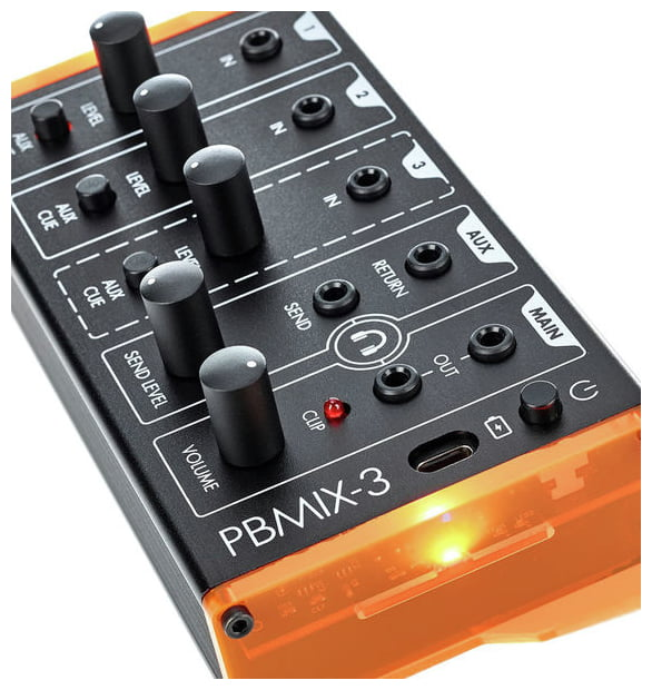 12190417 800 - Patchblocks Portable 3-Channel Mixer PBMIX3