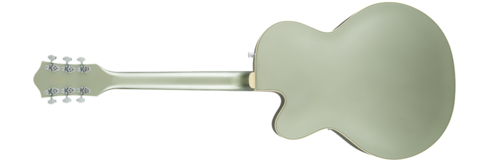 2506011553 gtr back 001 rl 700x228 - Gretsch G5420T Electromatic Single Cutaway Hollow Body Electric Guitar with Bigsby - Aspen Green