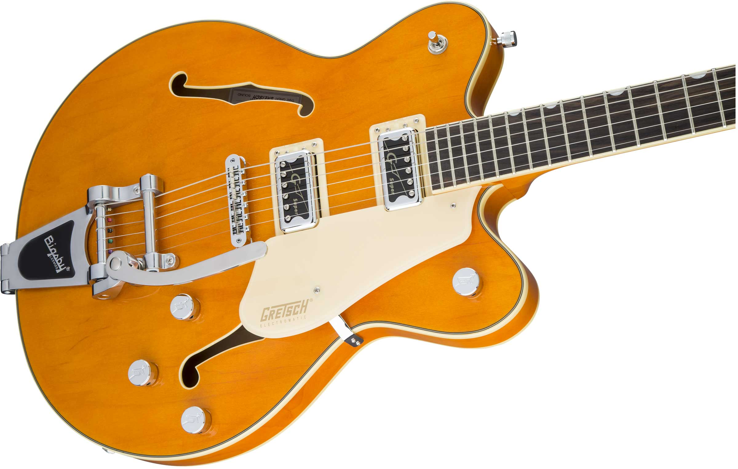 gretsch g5622t cb electromatic center block double cut with bigsby vintage orange katoomba music. Black Bedroom Furniture Sets. Home Design Ideas