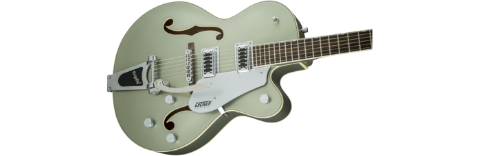 Gretsch G5420T Aspen Green gtr cntbdyright 001 nr 700x228 - Gretsch G5420T Electromatic Single Cutaway Hollow Body Electric Guitar with Bigsby - Aspen Green