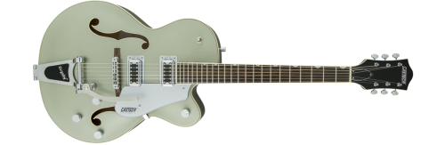 Gretsch G5420T Aspen Green gtr frt 001 rr 500x163 - Gretsch G5420T Electromatic Single Cutaway Hollow Body Electric Guitar with Bigsby - Aspen Green