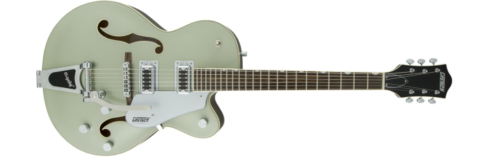 Gretsch G5420T Aspen Green gtr frt 001 rr 700x228 - Gretsch G5420T Electromatic Single Cutaway Hollow Body Electric Guitar with Bigsby - Aspen Green