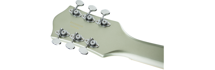 Gretsch G5420T Aspen Green gtr hdstckbck 001 nr 700x228 - Gretsch G5420T Electromatic Single Cutaway Hollow Body Electric Guitar with Bigsby - Aspen Green