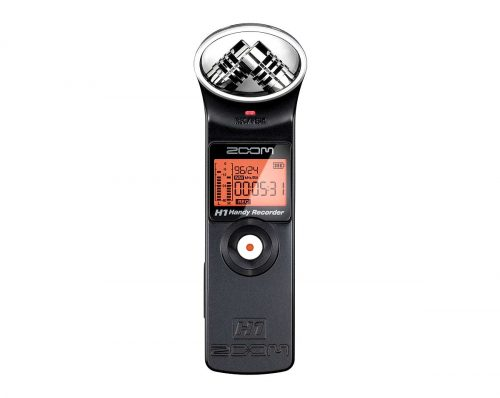 H1 ad01 1 500x398 - Zoom H1 Portable Field Recorder