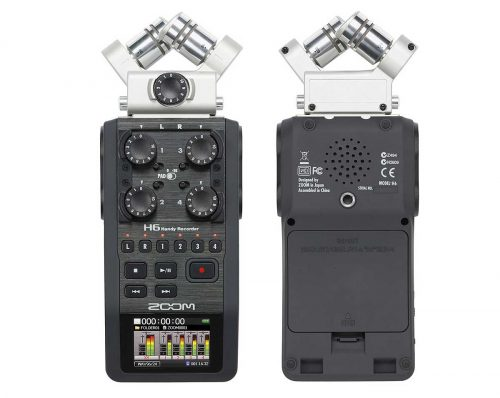 ZOO H6 0 500x398 - Zoom H6 Handy Recorder