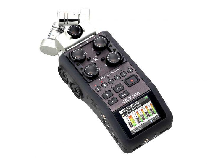 ZOO H6 1 700x558 - Zoom H6 Handy Recorder