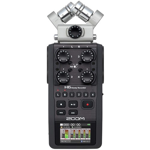 ZOO H6 2 - Zoom H6 Handy Recorder