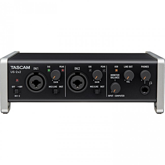 tascam us 2x2 usb audio interface - Tascam US-2x2 USB Audio Interface iPad Mac and PC