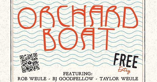28515309 2008315579486520 1106752952123995137 o 515x272 - Orchard Boat: Saturday Session