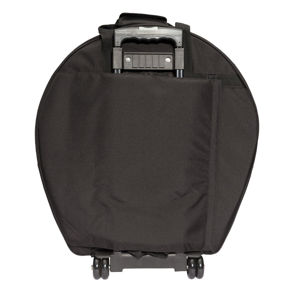 KZ CBAG5 BLK 2 1024x1024 - Kahzan Deluxe Cymbal Trolley Bag (Black)