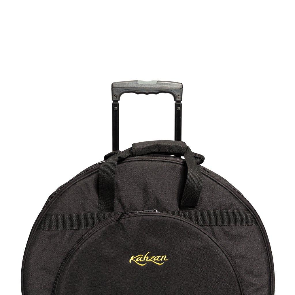 KZ CBAG5 BLK 5 1024x1024 - Kahzan Deluxe Cymbal Trolley Bag (Black)
