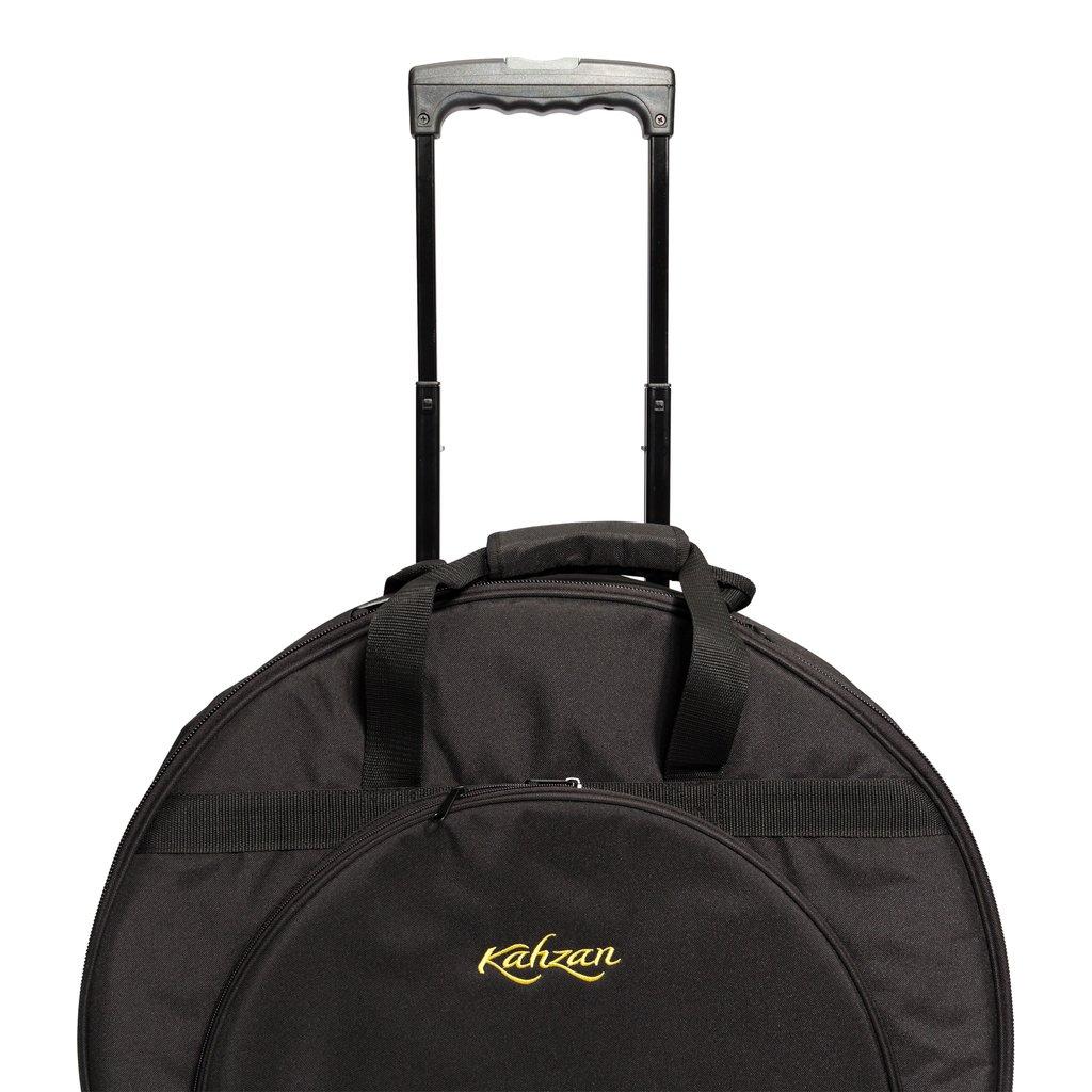 KZ CBAG5 BLK 6 1024x1024 - Kahzan Deluxe Cymbal Trolley Bag (Black)