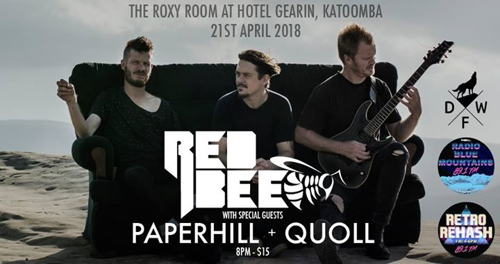 RED BEE at the Roxy Room, Hotel Gearin