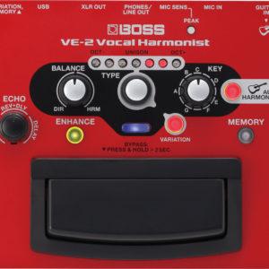 bossve2 01 300x300 - Boss VE2 Vocal Harmonist Effects Processor