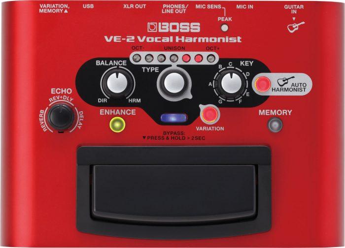 bossve2 01 700x504 - Boss VE2 Vocal Harmonist Effects Processor