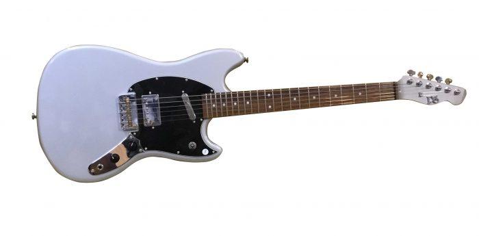 jimmy 700x345 - PureSalem 'Jimmy' Electric Guitar Grey Finish
