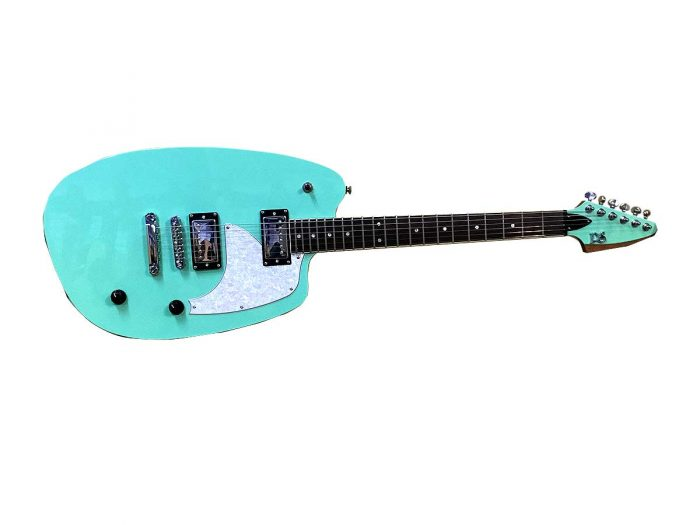 levitationa 700x525 - PureSalem Levitation Electric Guitar Surf Green Finish