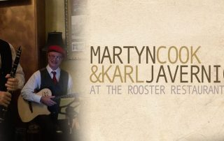 martynnkarl 320x202 - Martyn & Karl at The Rooster Restaurant