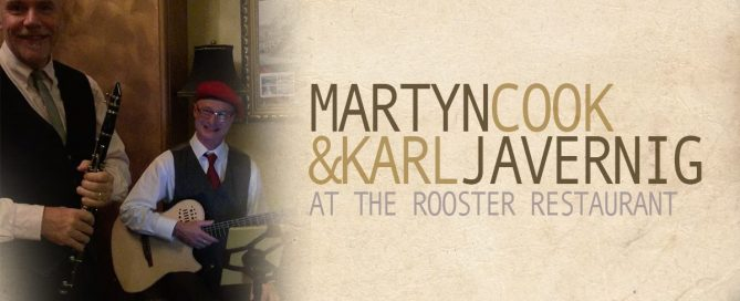 martynnkarl 669x272 - Martyn & Karl at The Rooster Restaurant
