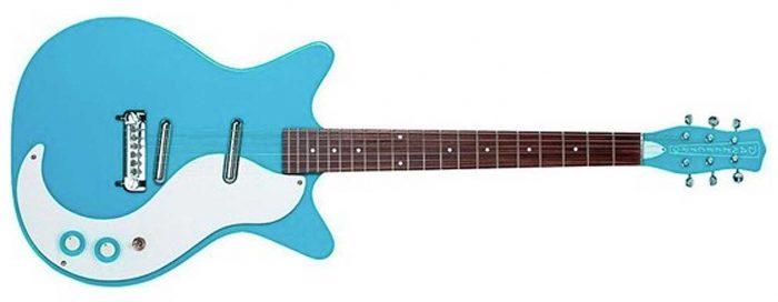 DK59MNOSBB 700x272 - Danelectro 59 Modified NOS Electric Guitar (Baby Blue)