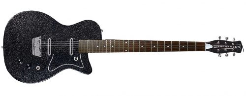 Danelectro 56BAR BKMF 2 500x195 - Danelectro 56 Baritone (Bottle Headstock) Black Metal Flake