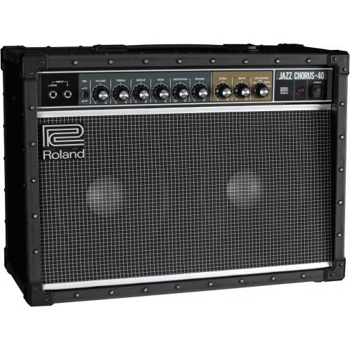 """jc 40 angle 2 gal - Roland Jc-40 Jazz Chorus 2 X 10"""" 40w Guitar Amp Combo (Jc40)"""
