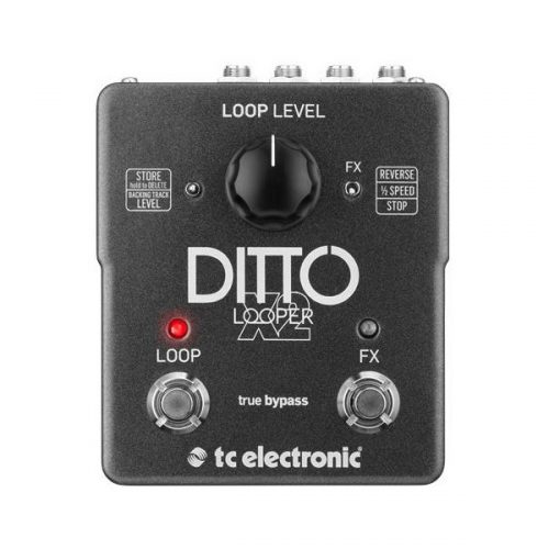 tc ditto x2 500x500 - TC Electronic Ditto X2 Stereo Looper Pedal