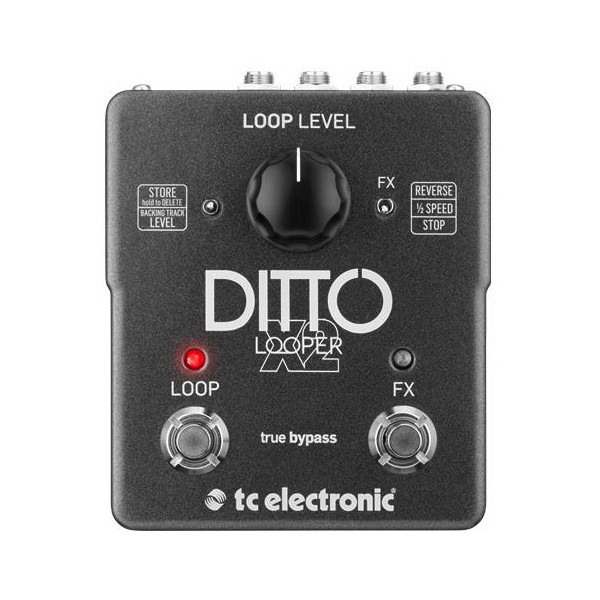 tc ditto x2 - TC Electronic Ditto X2 Stereo Looper Pedal