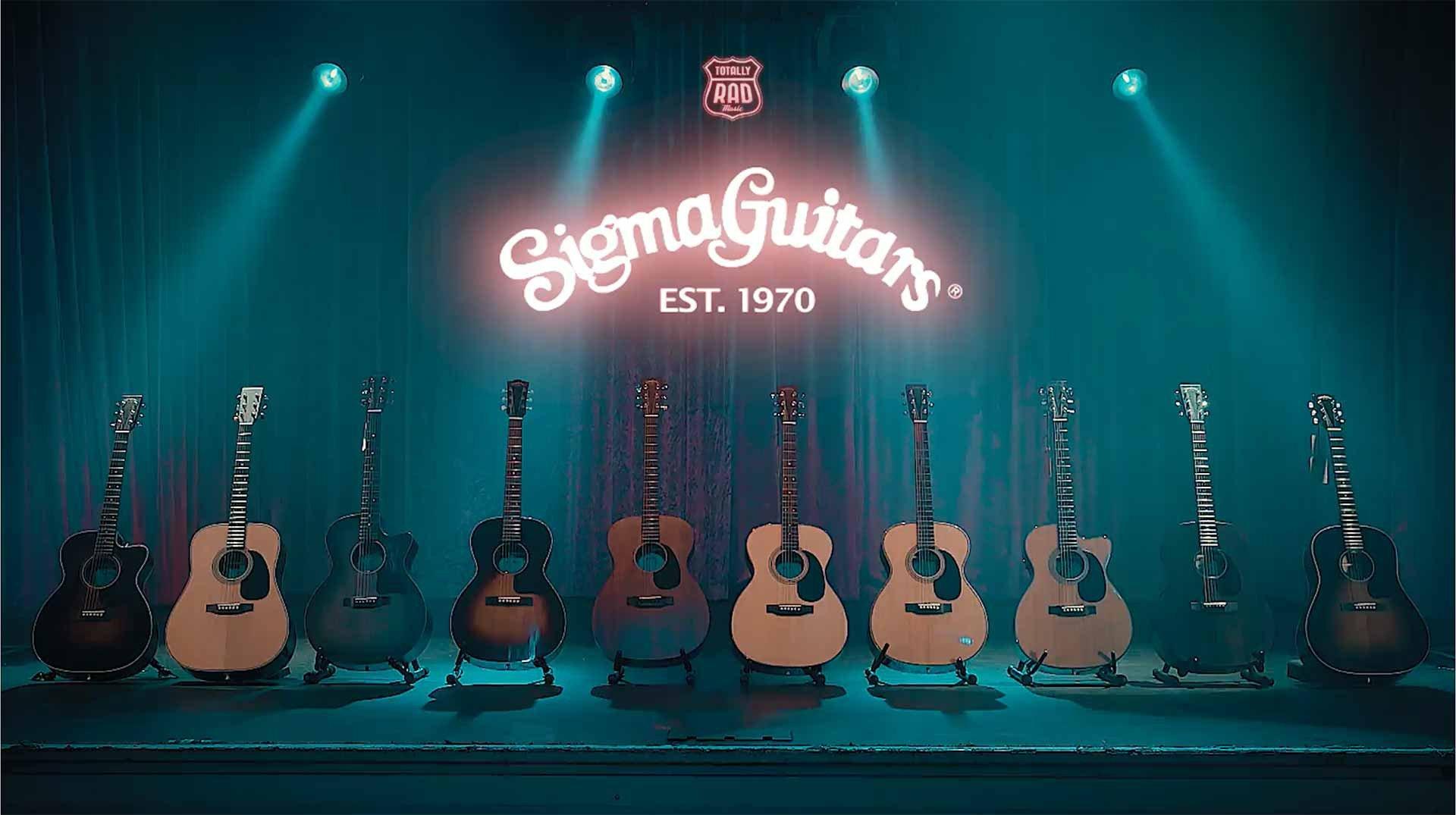 sigma guitars - Sigma DM-ST Acoustic Dreadnought Guitar
