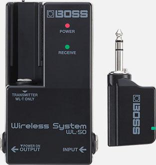 wl 50 main - Boss WL50 Plug-&-Play Wireless System
