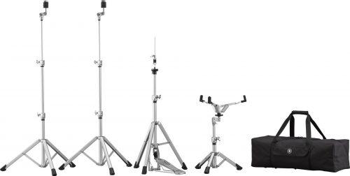 HW3Pack xlarge 500x252 - Yamaha HW-3 Crosstown Aluminium Drum Hardware Set