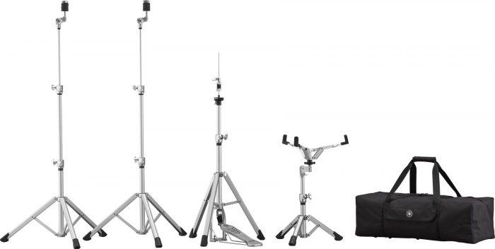 HW3Pack xlarge 700x352 - Yamaha HW-3 Crosstown Aluminium Drum Hardware Set