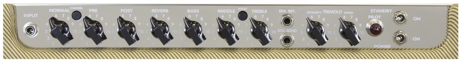 "PVDELTABLUES210 7 - Peavey Classic Series ""Delta Blues 210"" Guitar Amp Combo 30-Watt 2x10"""