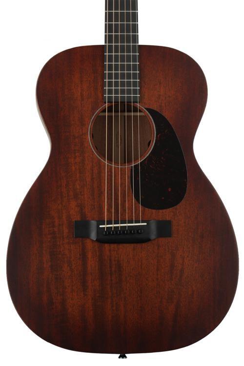 0015ERetro large - Martin Retro Series 0015E Mahogany Guitar with Aura VT Electronics