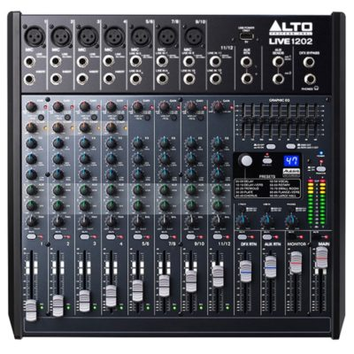 ALT LIVE1202 400x400 - 12-channel 2-Bus Mixer with 100 Effects